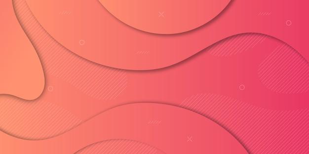 Abstrakter papierschnitt-steigungs-hintergrund