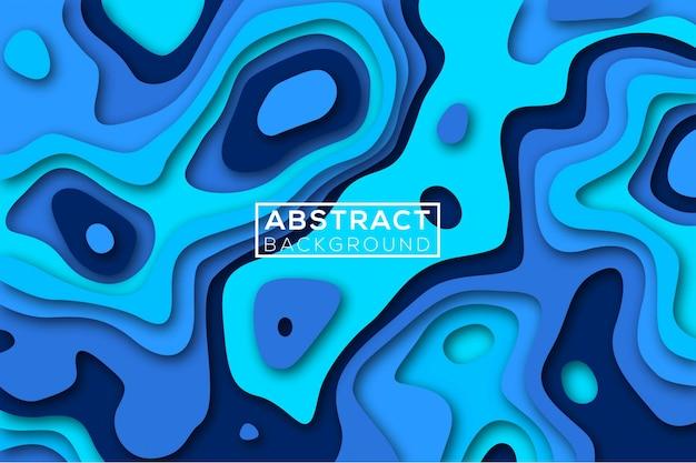 Abstrakter papierschnitthintergrund