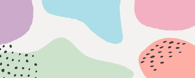 abstrakter pastellfarbener hintergrund auf flachem design