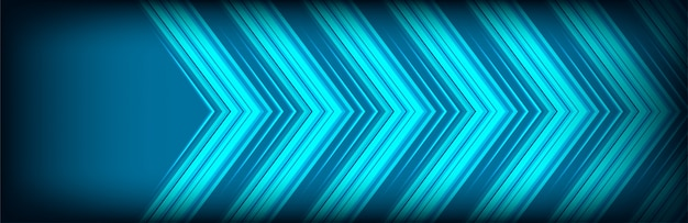 Abstrakter pfeilhintergrund mit klassischen blauen deckungsschichten