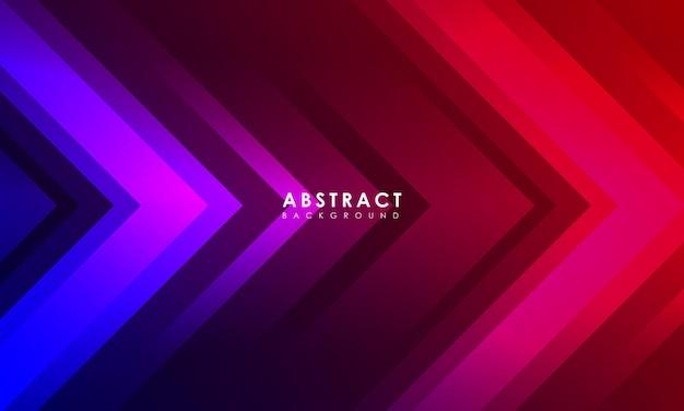 Abstrakter pfeilhintergrund mit kreativem kratzer modernes zielseitenkonzept
