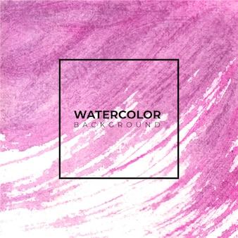 Abstrakter pinsel malte aquarellhintergrund auf papierbeschaffenheit.