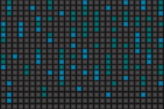 Abstrakter pixelregenhintergrund