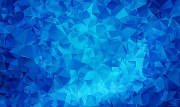Abstrakter polygonaler geometrischer dreieck-hintergrund des polygon-auszuges.