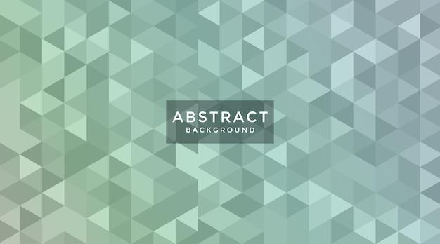 Abstrakter polygonaler hintergrund mit verlaufsfarbe