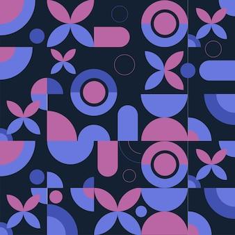 Abstrakter quadratischer fliesen-hintergrund mit heiligem geometrischem.