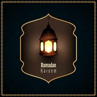 Abstrakter ramadan kareem islamischer religiöser hintergrund