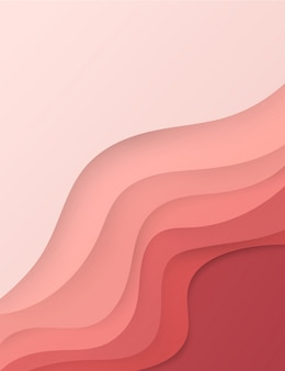 Abstrakter realistischer papierschnitthintergrund