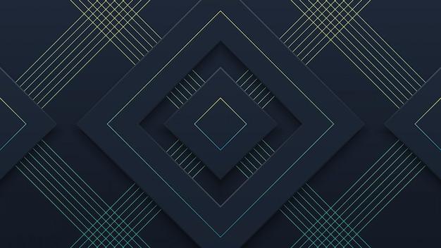 Abstrakter realistischer schwarzer papierschnitt-hintergrund