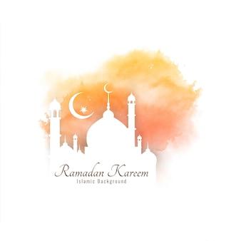Abstrakter religiöser dekorativer hintergrund ramadan kareems