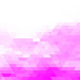 Abstrakter rosa geometrischer hintergrund