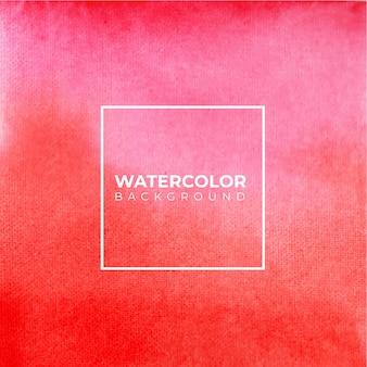 Abstrakter rosa und roter aquarell-hintergrund