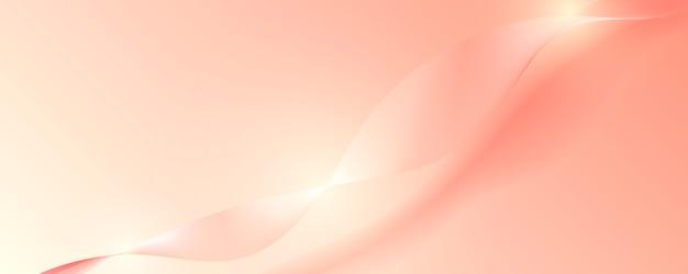 Abstrakter rosafarbener goldluxushintergrund.