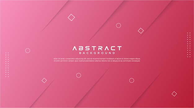 Abstrakter roter gradientenhintergrund