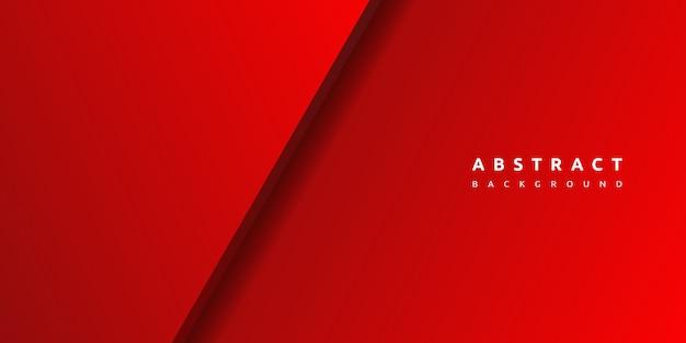 Abstrakter roter hintergrund 3d