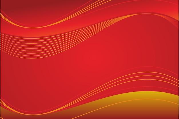 Abstrakter roter moderner eleganter designhintergrund kostenlosen vektoren