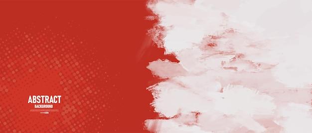 Abstrakter roter und weißer schmutzbeschaffenheitshintergrund