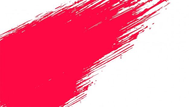 Abstrakter roter und weißer schmutzhintergrund