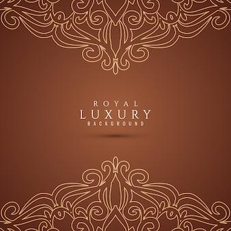 Abstrakter schöner dekorativer luxushintergrund
