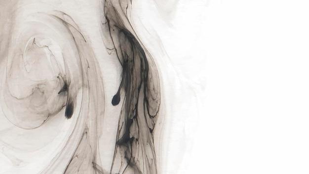 Abstrakter schwarzer aquarellhintergrundvektor
