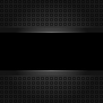 Abstrakter schwarzer hintergrund. plastische textur Premium Vektoren
