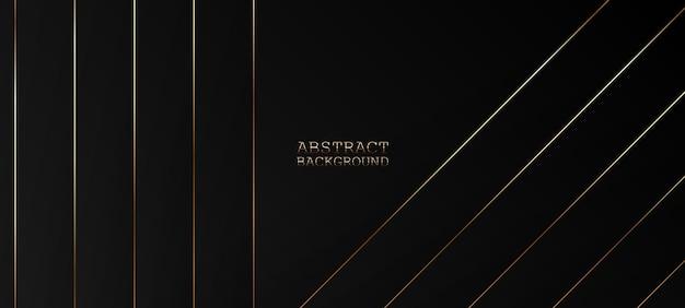 Abstrakter schwarzer hintergrund. vektor-illustration
