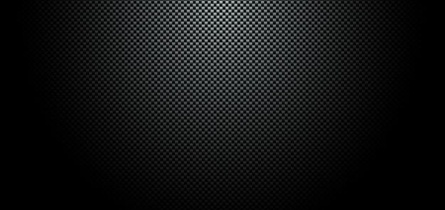 Abstrakter schwarzer kohlefaser-meterialhintergrund