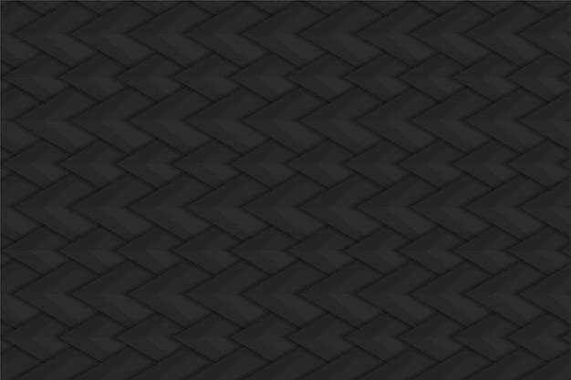 Abstrakter schwarzer stahlhintergrund mit schlange stuft muster ein.