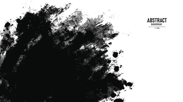 Abstrakter schwarzer und weißer grunge-textur-hintergrund