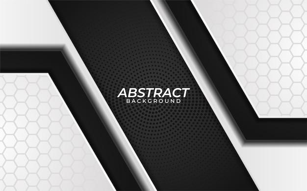 Abstrakter schwarzweiss-hintergrund mit dunkler metallbeschaffenheit. moderner luxushintergrund