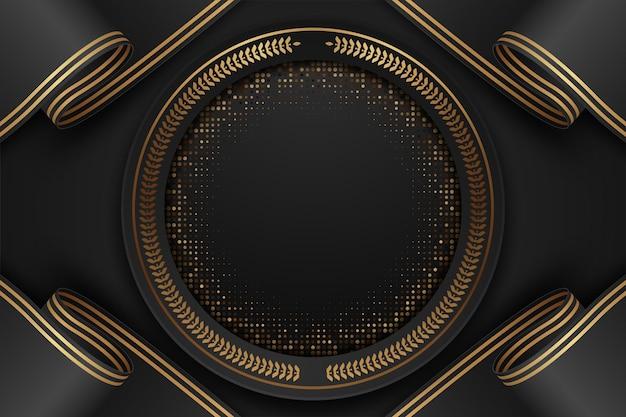 Abstrakter schwarzweiss-luxushintergrund