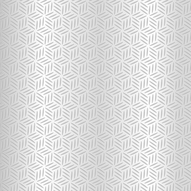 Abstrakter silberner metallischer nahtloser diamantmusterhintergrund