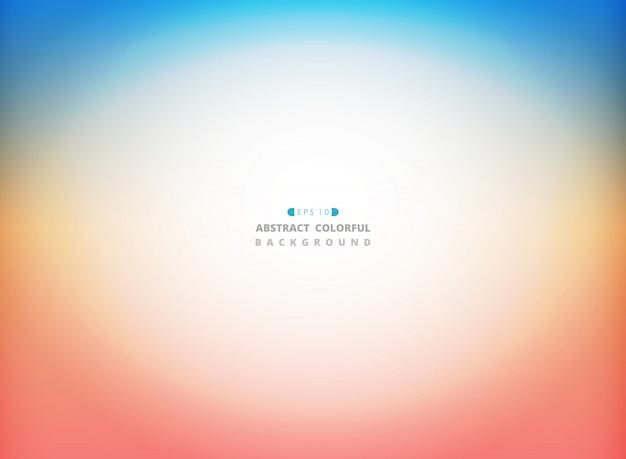 Abstrakter sommernaturwetter-farbhintergrund