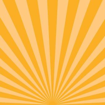 Abstrakter starburst-hintergrund. vektorillustration.