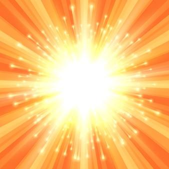 Abstrakter starburst-hintergrund