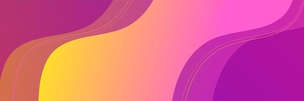 Abstrakter strukturierter vektorhintergrund mit orange und purpurroter farbe. können wir für banner, poster, cover, werbeanzeigen und mehr