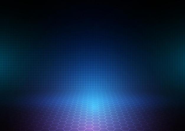 Abstrakter tech hintergrund