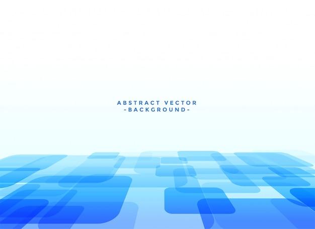 Abstrakter techno slyle blauhintergrund