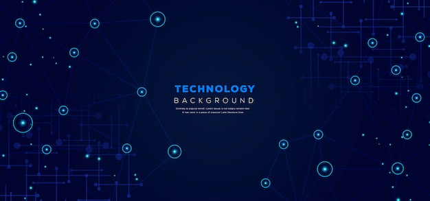 Abstrakter technologie-hintergrund