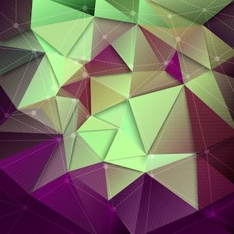 Abstrakter technologie-vektor-hintergrund