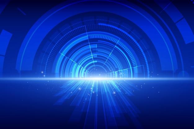Abstrakter technologiegeschwindigkeitshintergrund