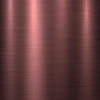 Abstrakter technologiehintergrund aus bronzemetall mit poliertem, gebürstetem chrom-silber-stahl