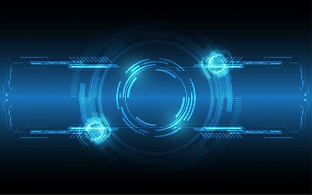 Abstrakter technologiehintergrund high-teche kommunikation