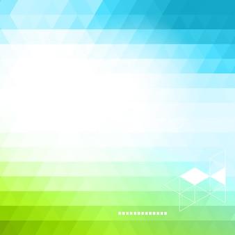 Abstrakter technologiehintergrund in der farbe