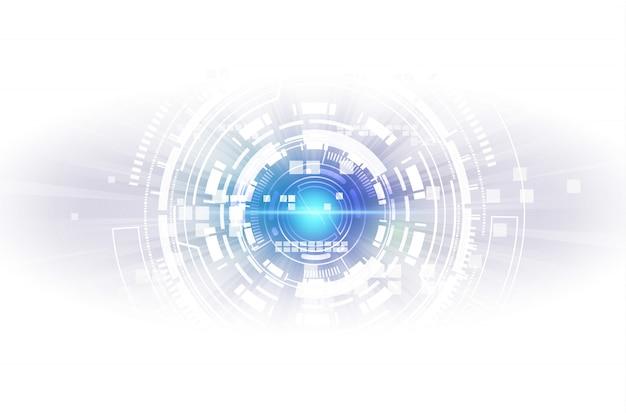 Abstrakter technologiehintergrund