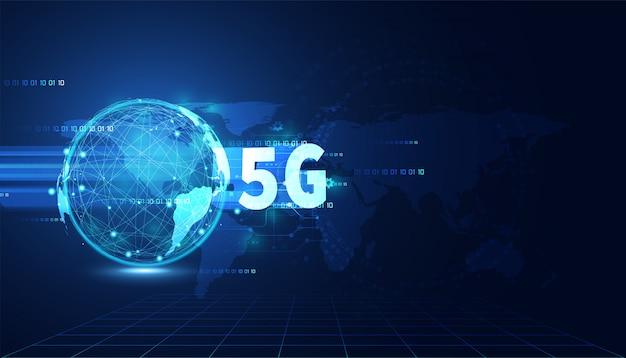 Abstrakter technologieweltcybersicherheitsdatenschutzinformationsnetzkonzept-vorhängeschlossschutz-digitalnetz-internet-link auf high-techem blauem zukünftigem hintergrund