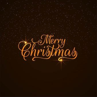 Abstrakter Textdesignhintergrund der frohen Weihnachten