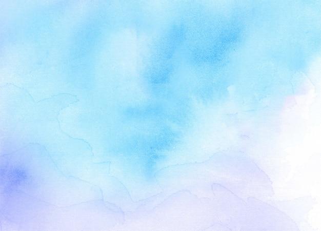 Abstrakter texturhintergrund des blauen aquarells