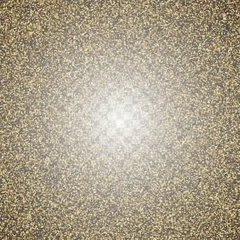 Abstrakter transparenter goldener funkelnhintergrund