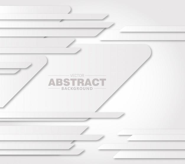 Abstrakter überlappender futuristischer hintergrund